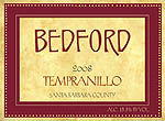Bedford 2008 Tempranillo_1in